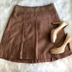 Loft • Tweed Full Skirt